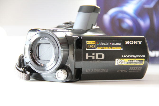 Sony HDR-SR12E Camcorder